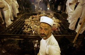 Modern Samaritans celebrate Passover on Gerizim