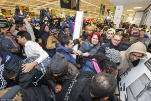 What transmutes a Good Friday Gang into a Black Friday Mob? Legalism!